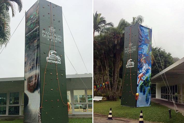 Parede de Escalada no Plaza Caldas da Imperatriz Resort