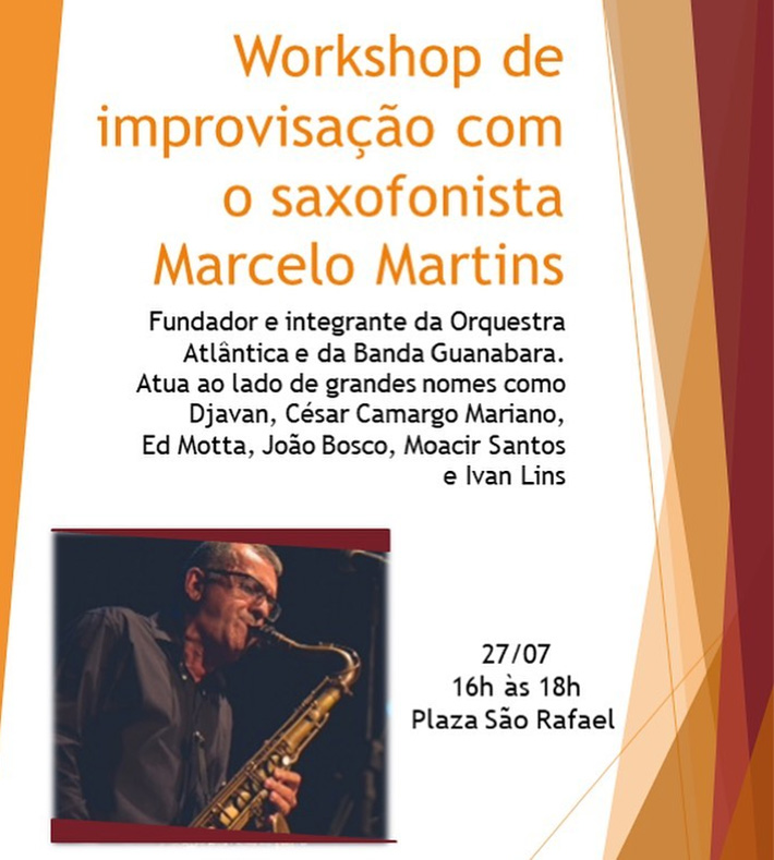 Wokshop sorpo ,sax Marcelo Martins no Plaza