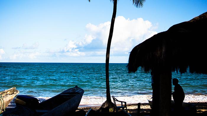 Casa do Pescador na Praia Busca Vida