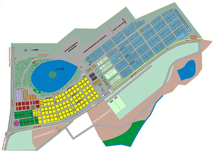 Expodireto 2020 mapa